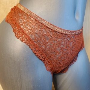VS Luxurious Very Sexy Sheer Mesh Cutout Panty